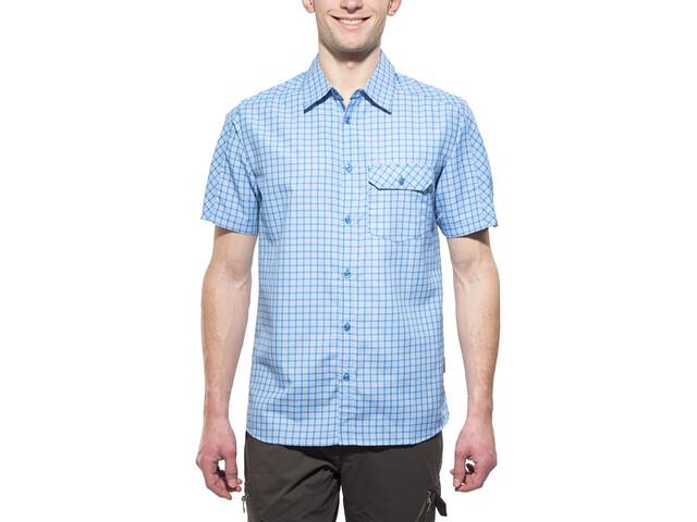 axant Alps Travel Shirt Agion Active Men blue check